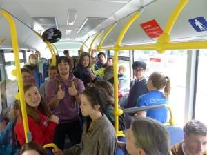 Public transportation BUSFAHREN